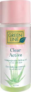 Odstranjevalec ličil Green Line, Clear active, 150 ml