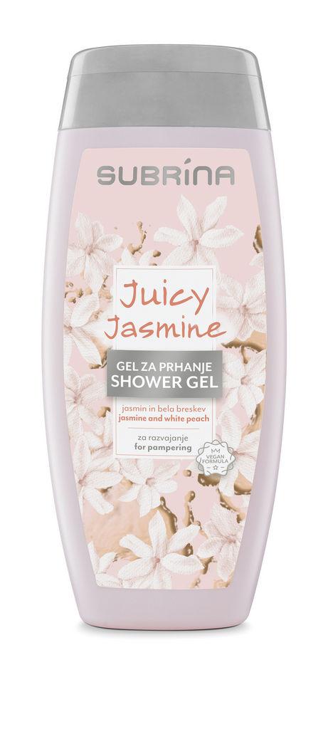 Gel za prhanje Subrina, Juicy Jasmine, 250 ml
