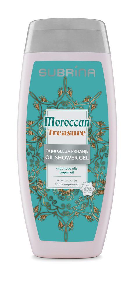 Oljni gel za prhanje Subrina, Moroccan Tresure, 250 ml