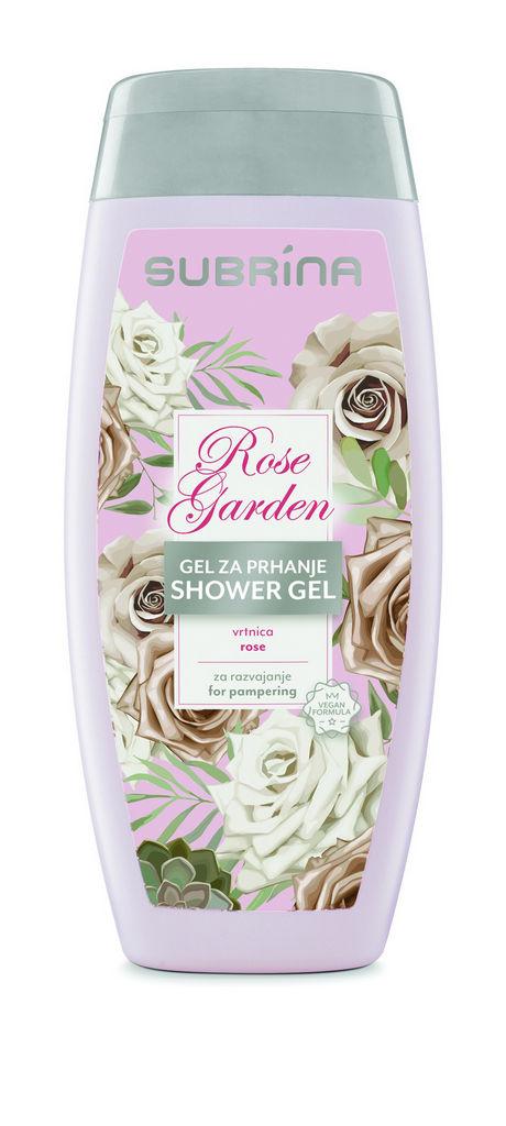Gel za prhanje Subrina, Rose Garden, 250 ml