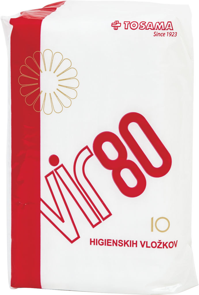 Higienski vložki Vir 80, 10/1