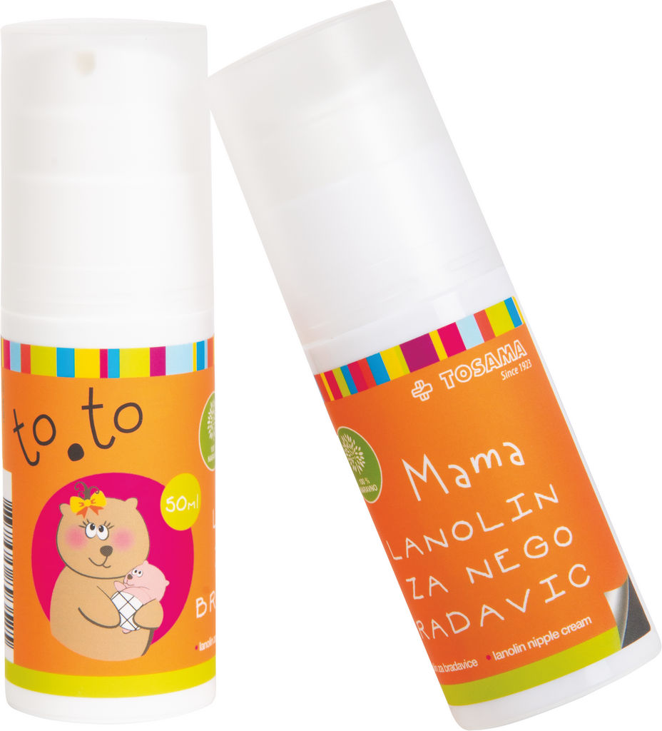 Mazilo To.To mama lanolin za nego bradavic, 50 ml