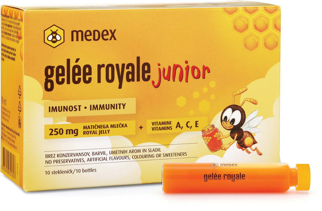 Fiole Gelee royale, junior, 10x9ml