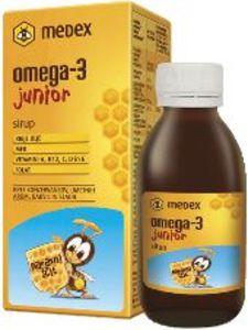 Sirup Medex, Omega 3 Junior, 140 ml