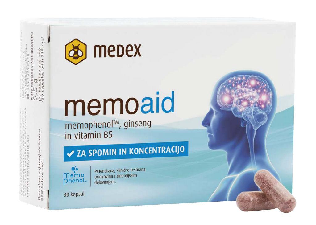 Prehransko dopolnilo Medex, Memoaid, 30/1