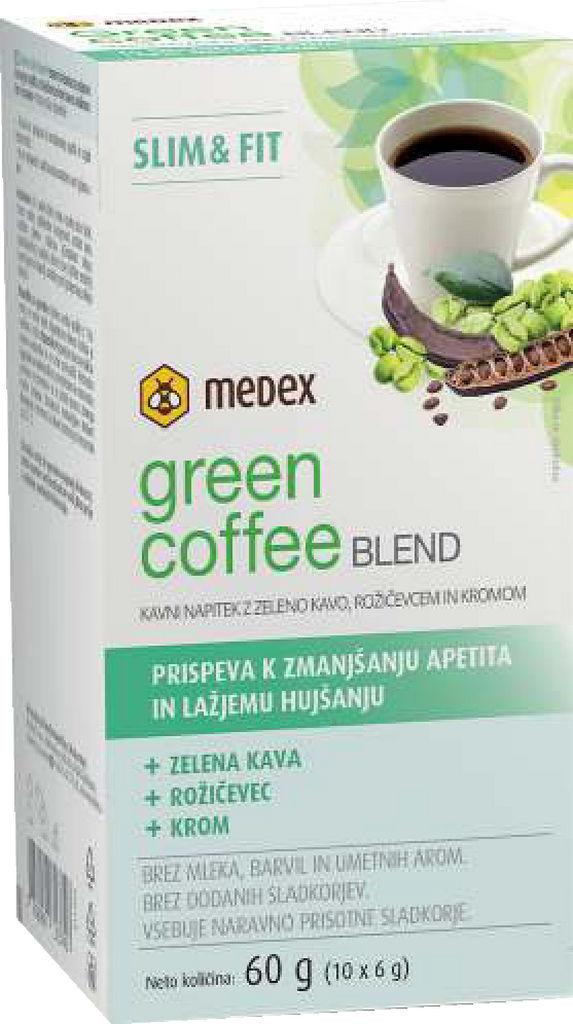 Prehransko dopolnilo Medex, Green cofee blend, 60 g