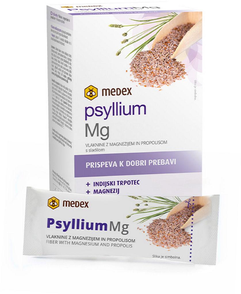 Prehransko dopolnilo Medex, Psyllium vlaknine Mg, 63 g