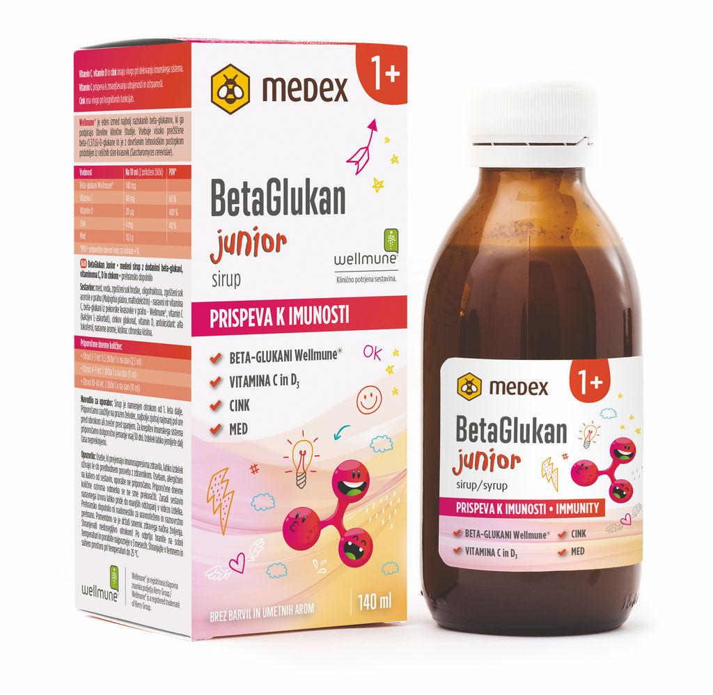 Sirup Medex BetaGlukan Junior, 140 ml