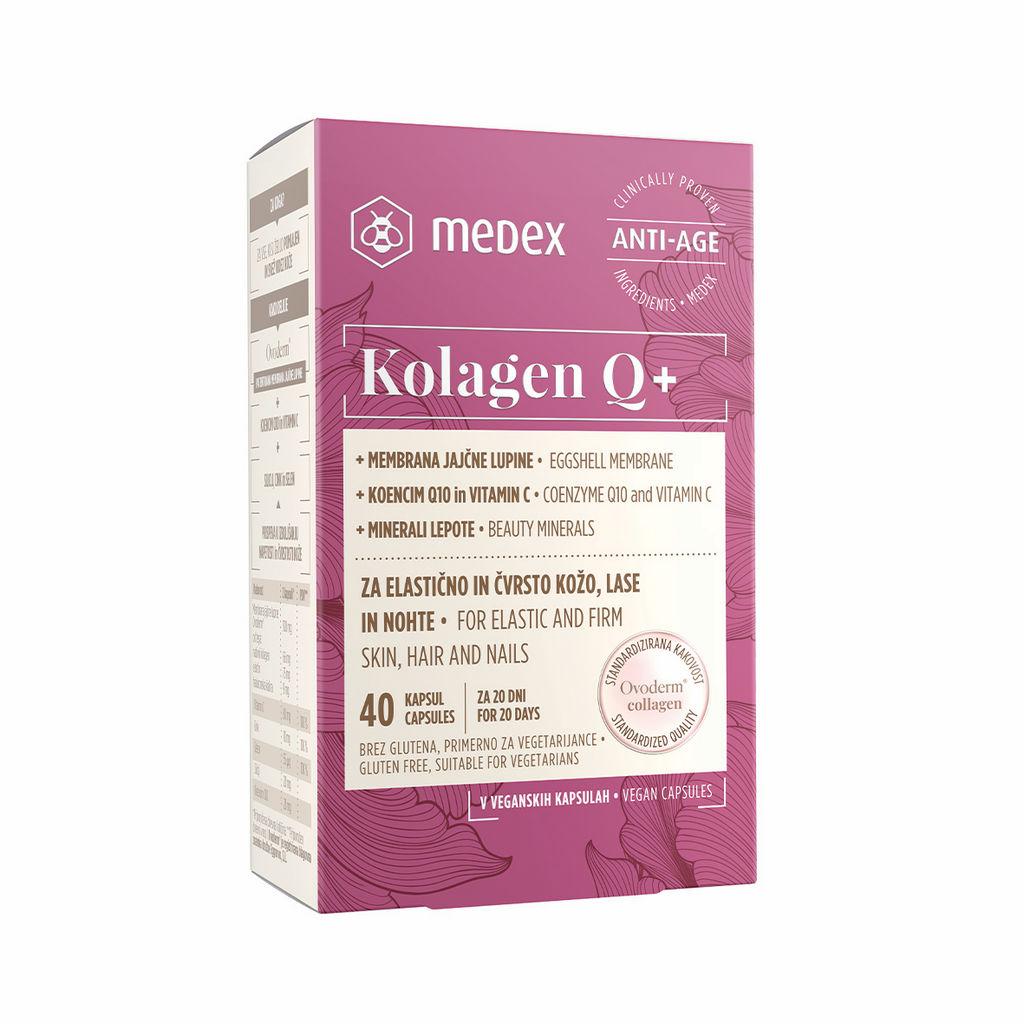 Kapsule kolagen Q+, 40/1