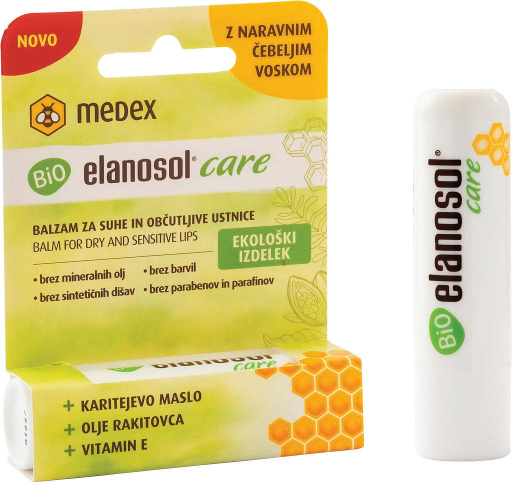 Balzam Elanosol Bio, Care