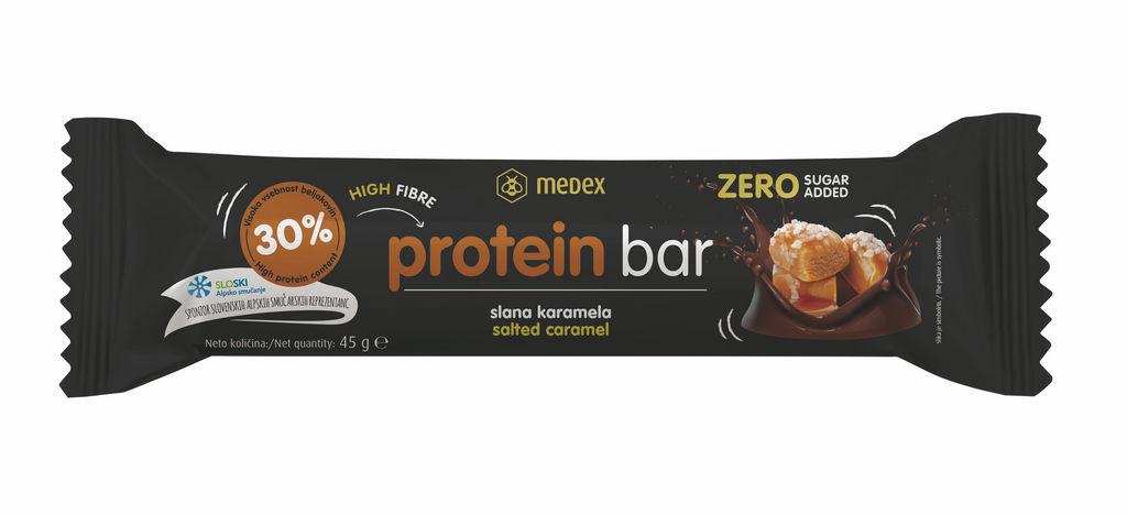 Ploščica Protein Bar, Slana karamela, 45g