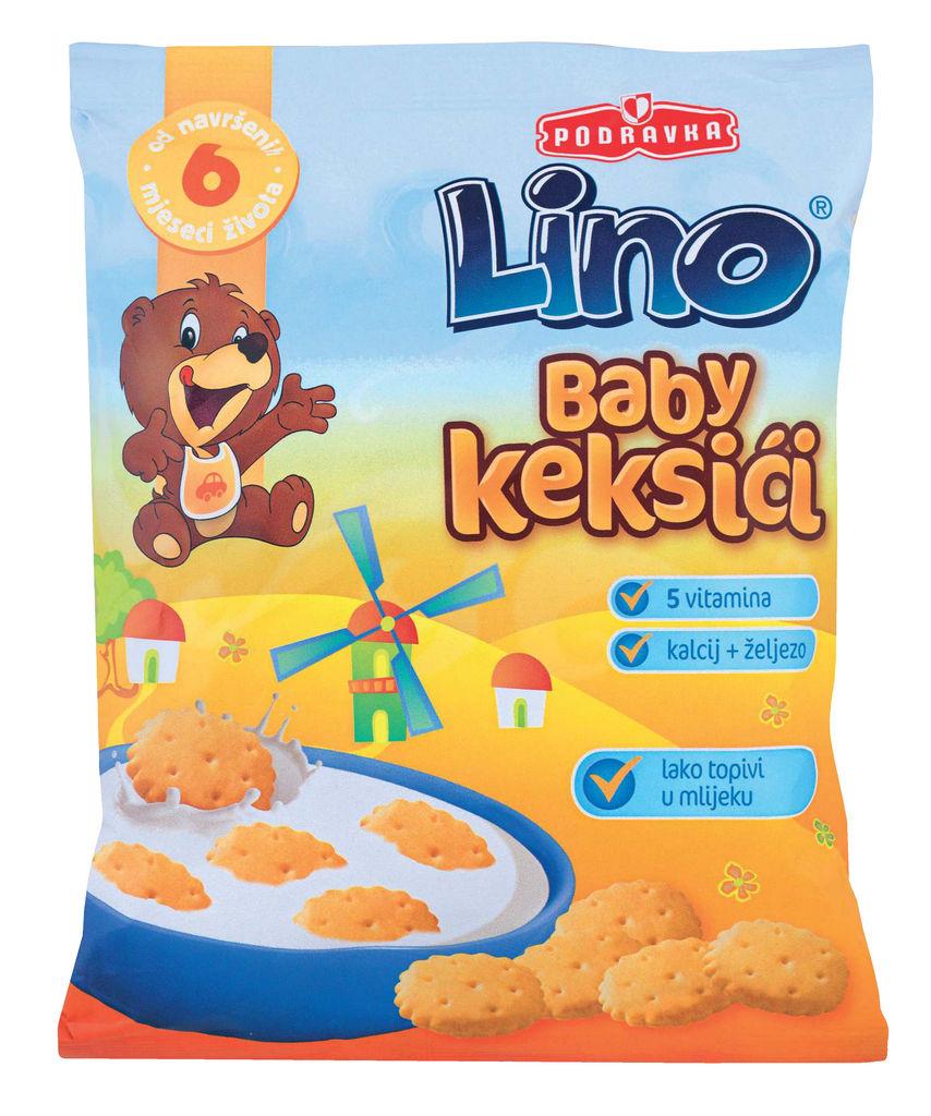 Keksi Lino Baby, 140 g