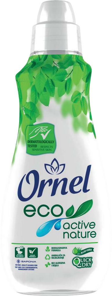 Mehčalec Ornel Aloe eco active, 900ml