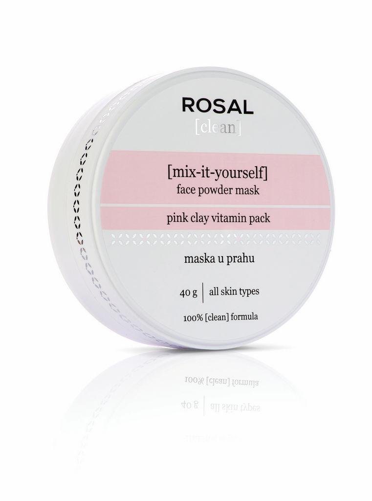 Maska Rosal, Clean face, powder mask, 40g