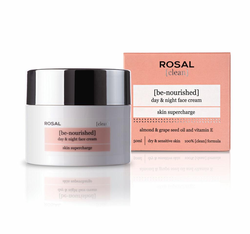 Krema Rosal, Clean face z mandlj.oljem, 50ml