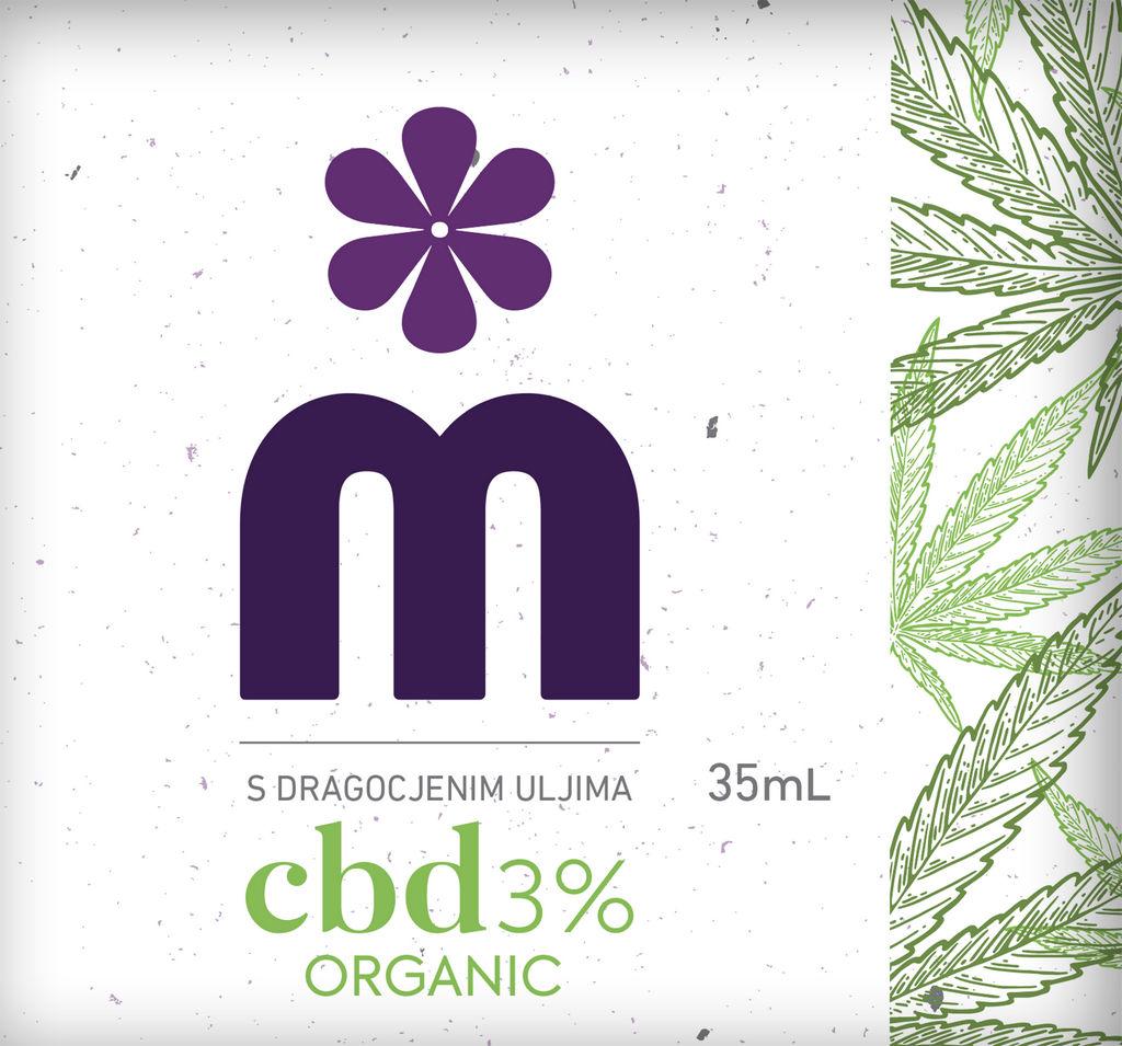 Krema Melem CBD, 35 ml