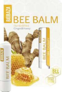 Balzam za ustnice Biobaza ingver in med, 4.5g