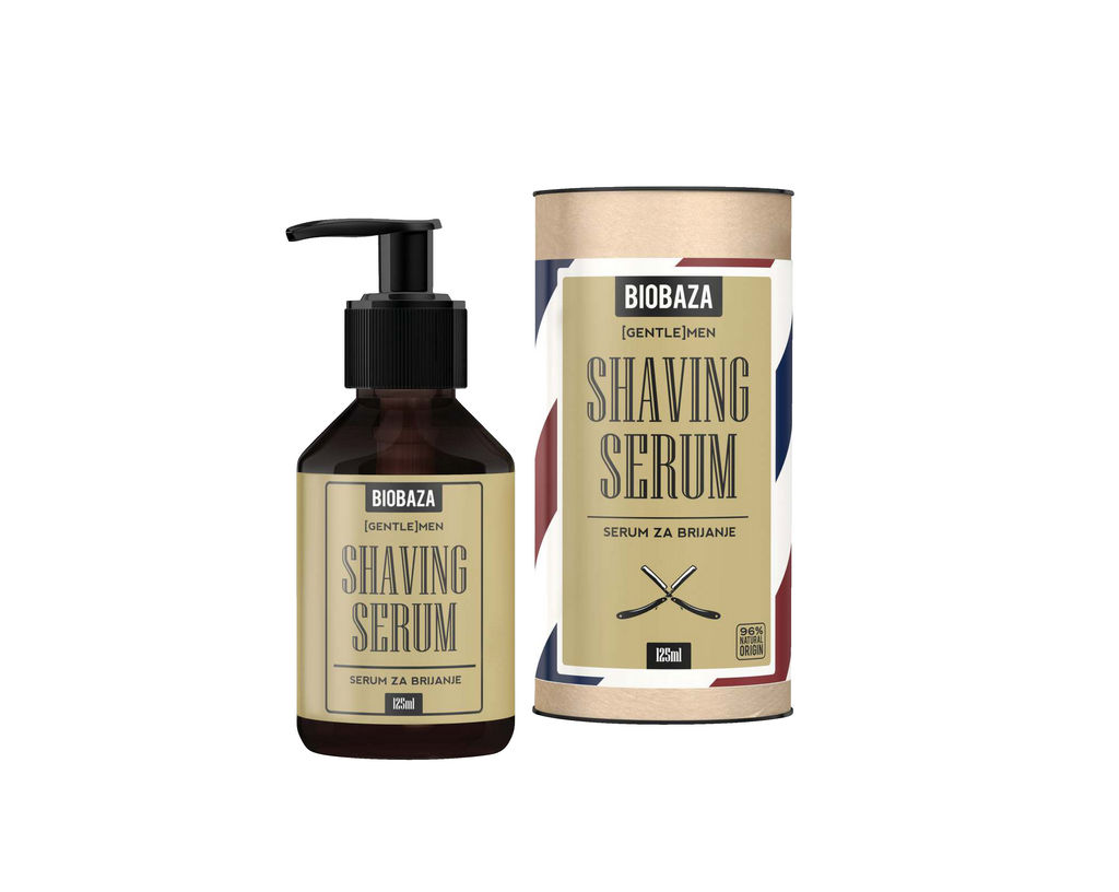Serum za britje Biobaza men, 125ml