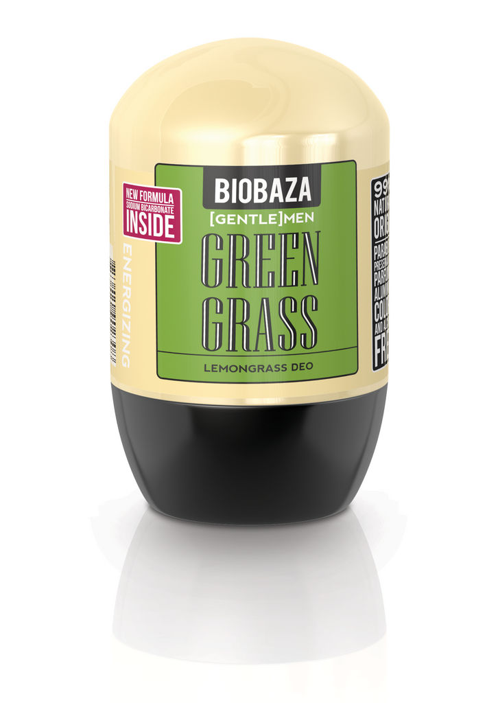 Roll-on Biobaza men, Green grass, 50ml