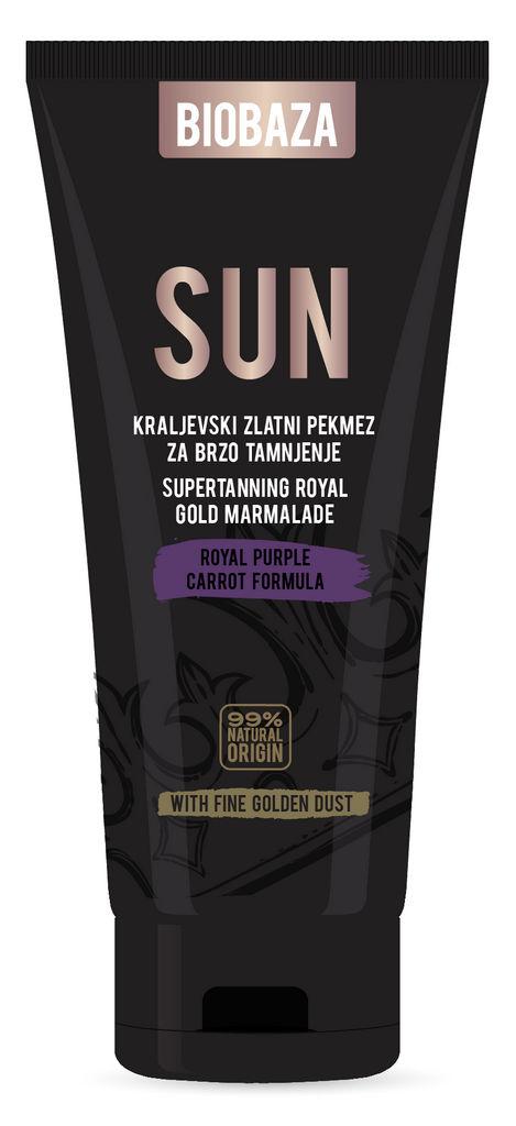 Krema Biobaza Sun, Royal gold, 150ml