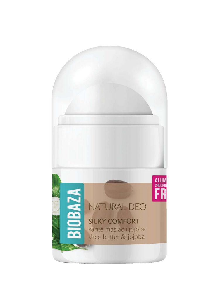 Roll-on Biobaza, Silky comfort, 20ml