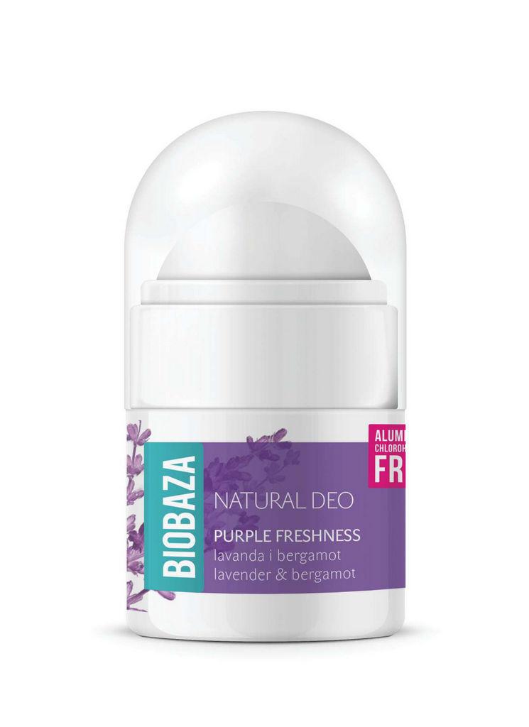 Roll-on Biobaza, Purple freshness, 20ml