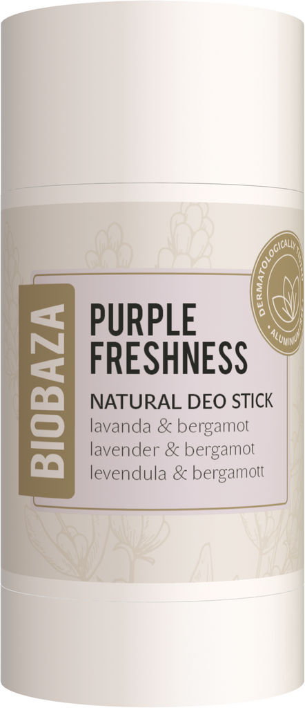 Deozodorant stick Biobaza Purple Freshness ženski, 50ml