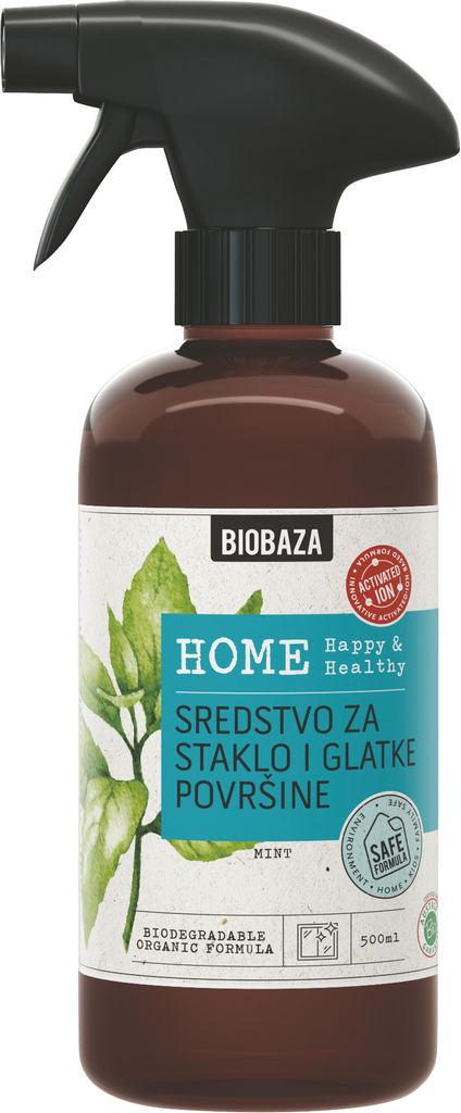 Čistilo Biobaza Home za steklo, 500ml