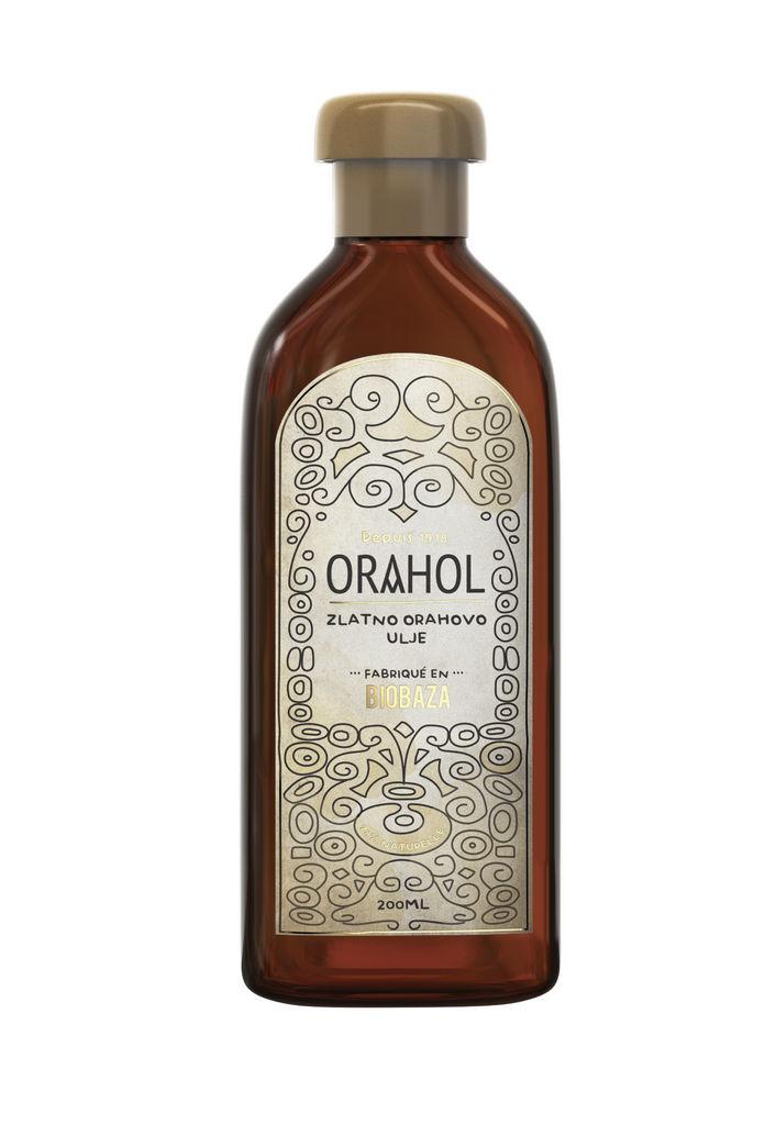 Olje Biobaza Orahol za sončenje, 200 ml