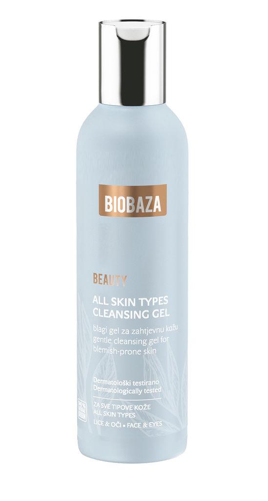 Čistilni gel za obraz Biobaza Beauty za vse tipe kože, 200ml
