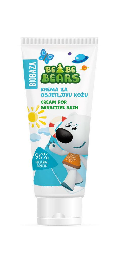 Krema hipoalergena Biobaza Bebe  Bears, 100ml