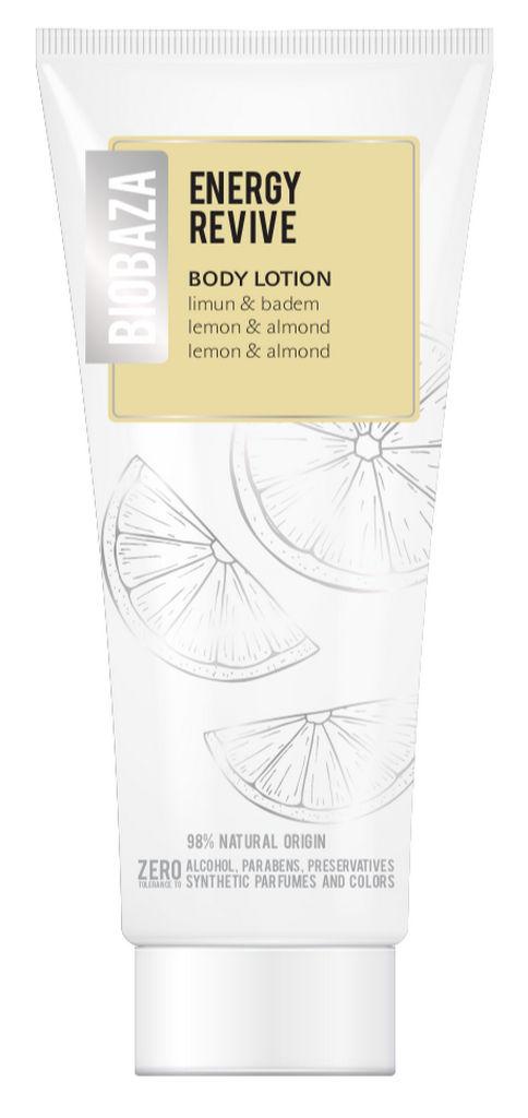 Losjon za telo Biobaza Body, Energy Revive lemon & buttermilk, 250ml