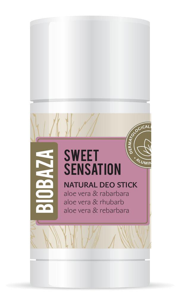 Dezodorant stick Biobaza, sweet sensation, 50 ml