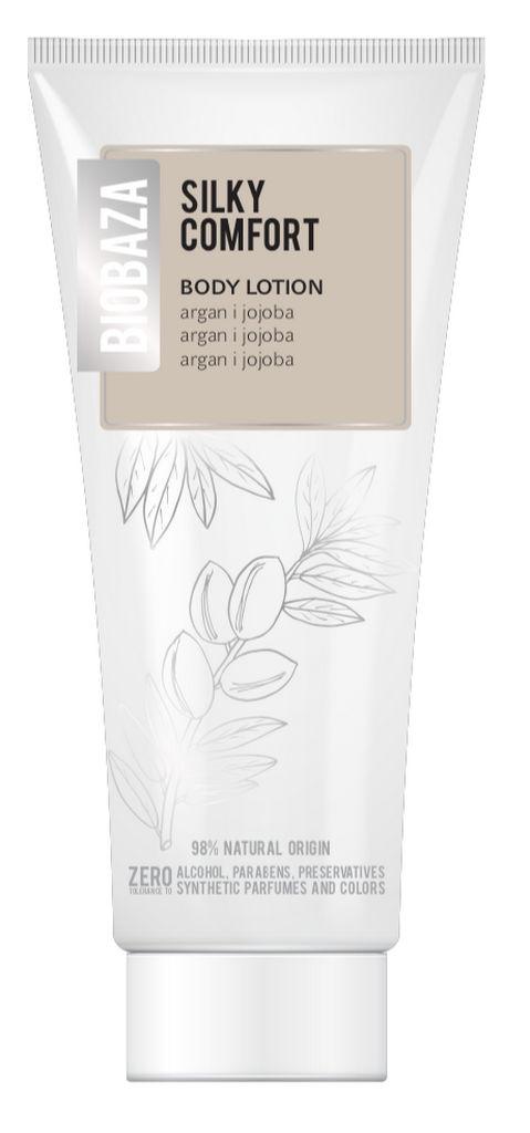 Losjon za telo Biobaza Body, Silky comfort argan & jojoba, 250ml