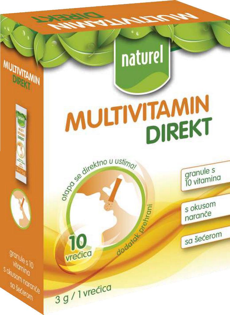 Multivitamin Naturel, direkt, 30g