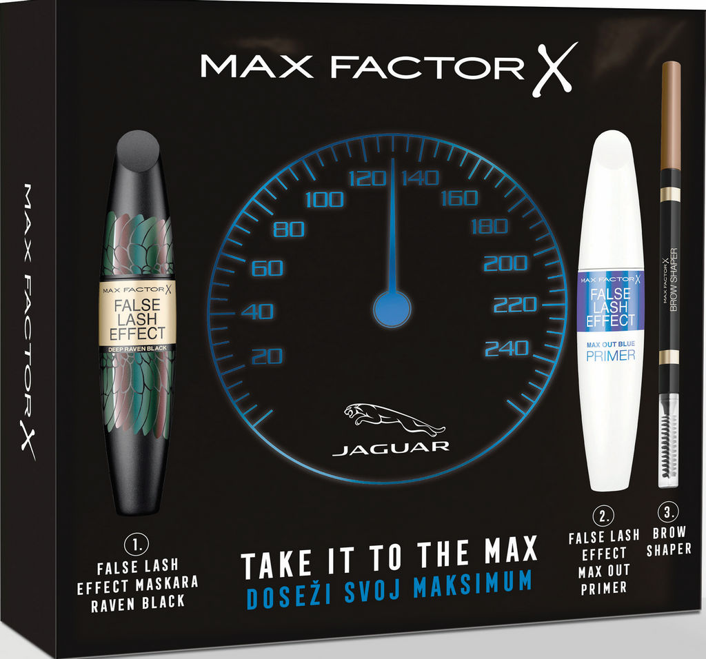 Set ličil Max Factor, Take it to the max!