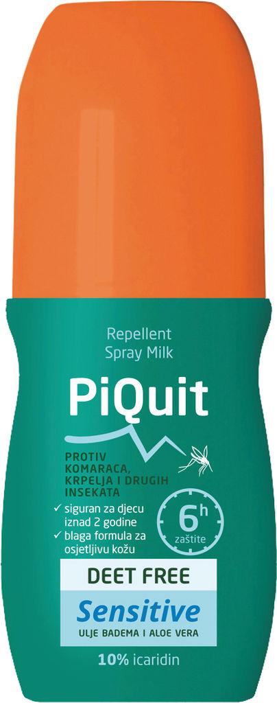 Repelent Piquit sensitive, spray milk, 100 ml