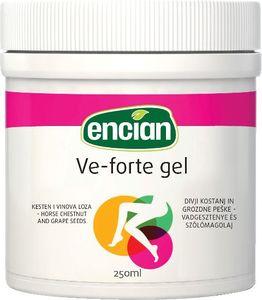 Mazilo gel Encian, Vene forte, 250 ml