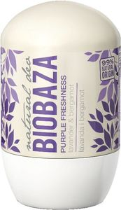 Roll-on Biobaza, sivka/bergamotka, 50ml