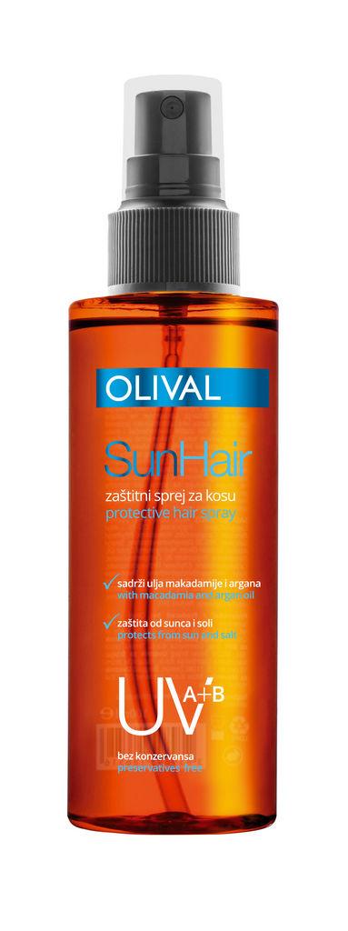 Sprej za lase Olival Sun, zaščita proti soncu, 100ml