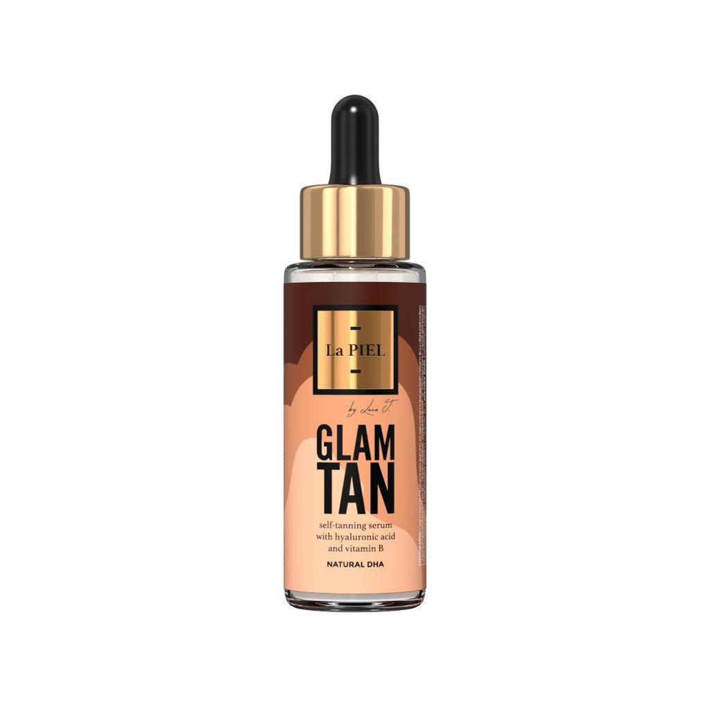 Serum La Piel za samoporjavitev, Glam Tan, za obraz, 30 ml