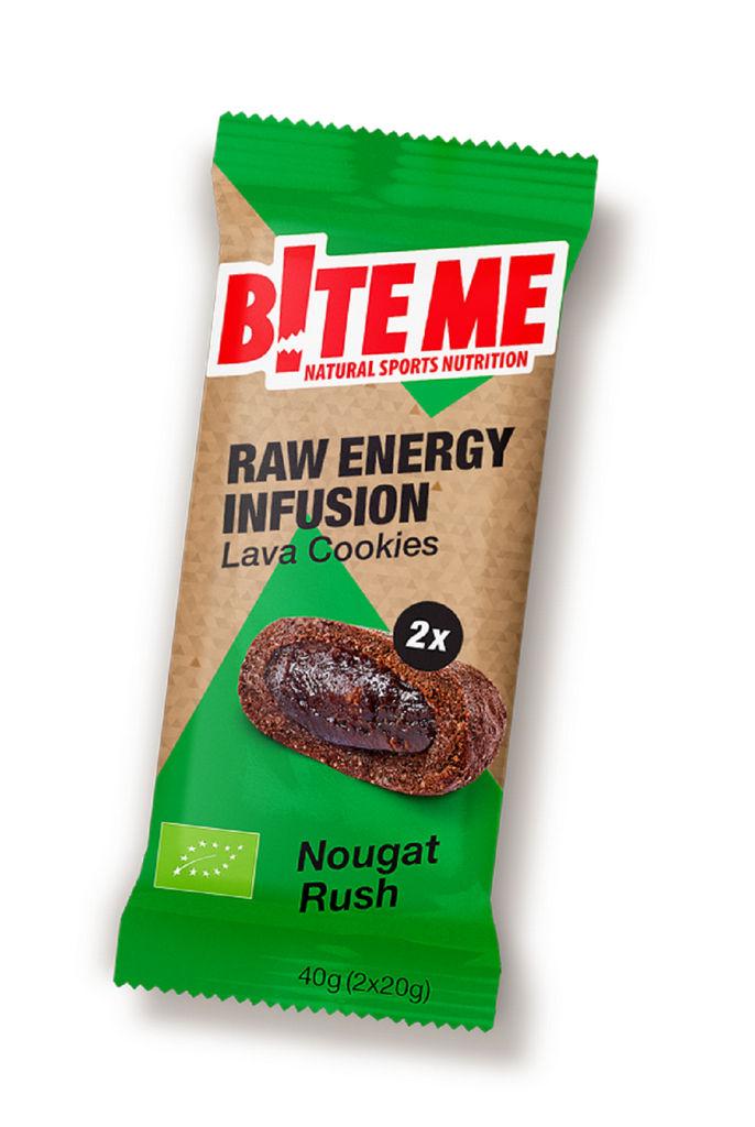 Piškoti Bio Bite me lava, nougat rush, 2 x 20 g