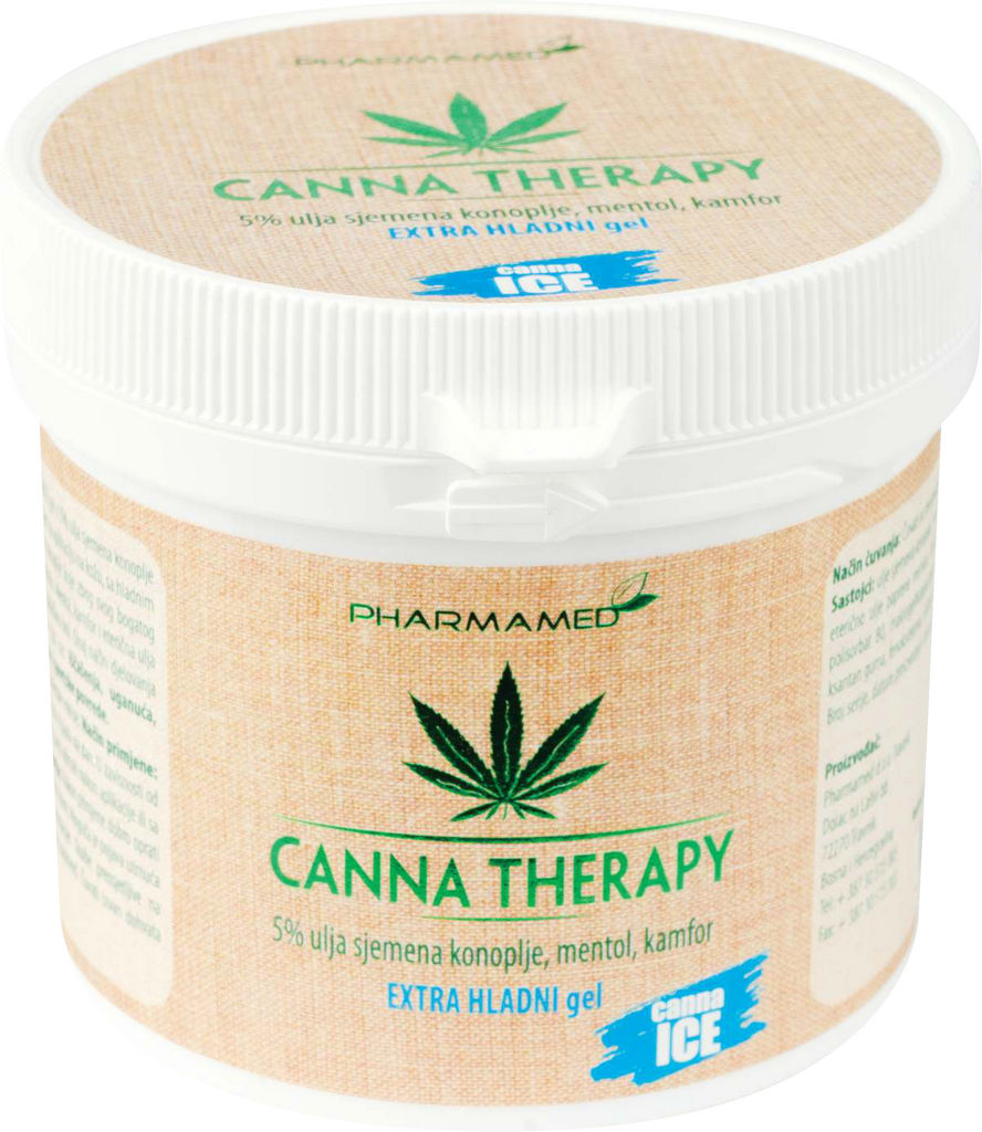 Gel hladilni Canna therapy ekstra hladni, 250ml