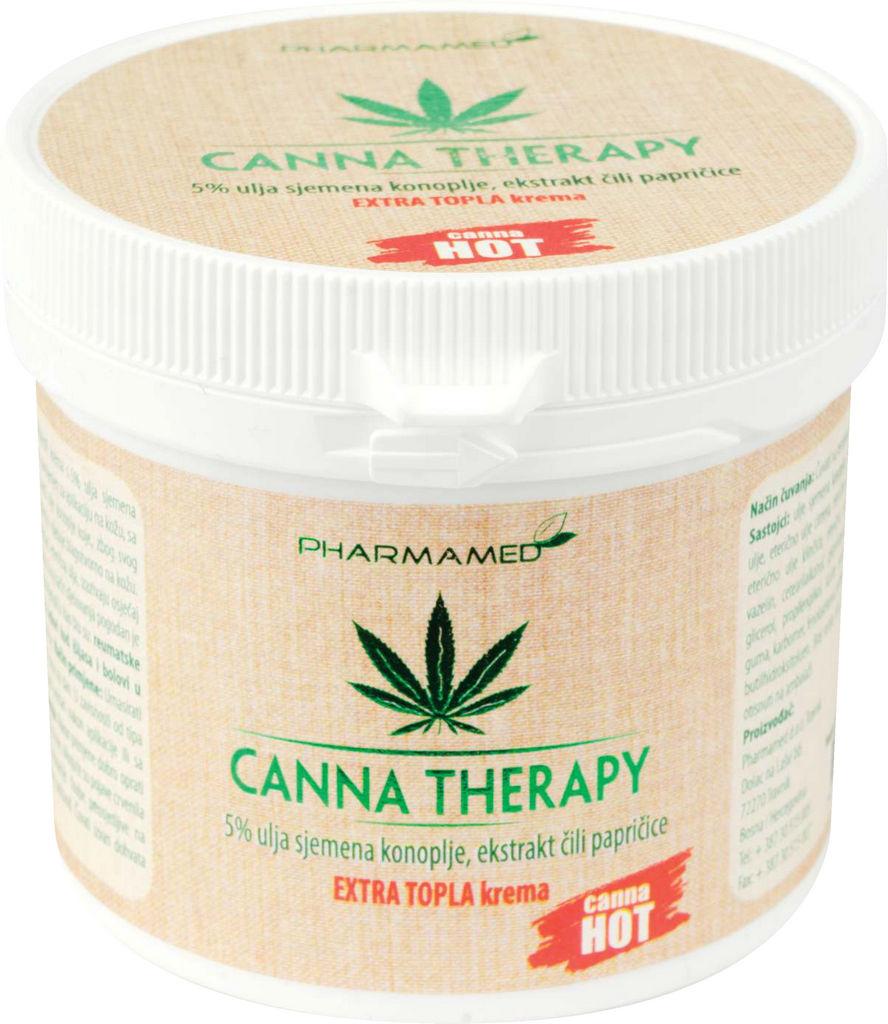 Krema Canna therapy extra topla, 250ml