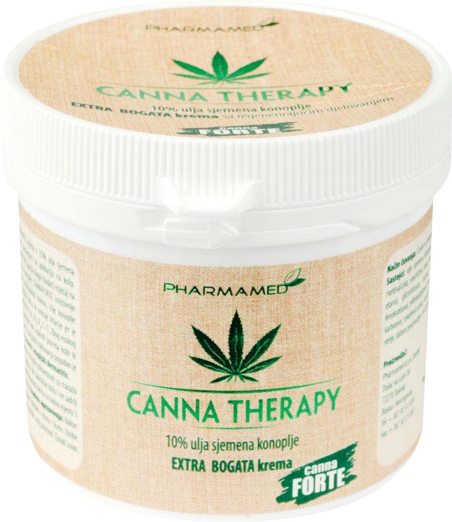 Krema Canna therapy extra bogata, 250ml