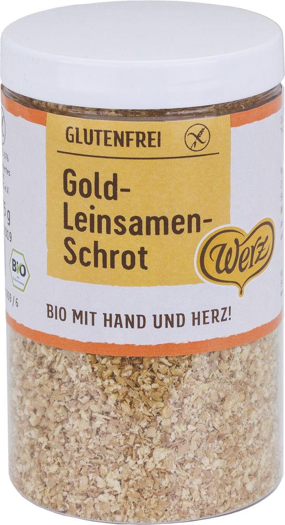 Seme Bio Werz, laneno zlato, mleto, 175 g
