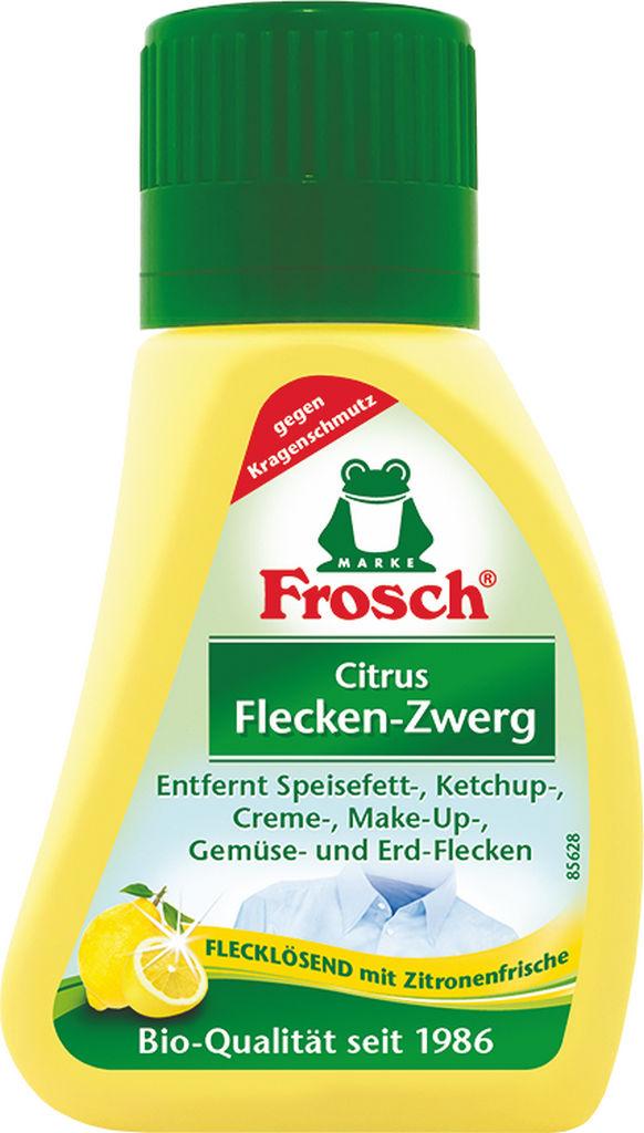 Odstranjevalec madež.Frosch, limona, 75ml