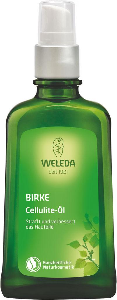 Olje Weleda proti celulitu iz brezovih listov, 100ml