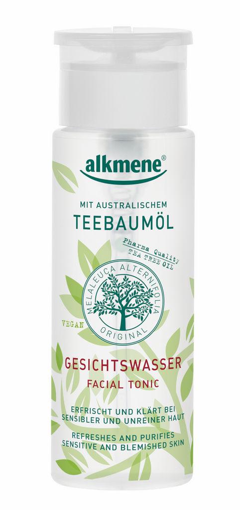 Tonik čistilni za obraz Alkmene, Tea tree, 150ml