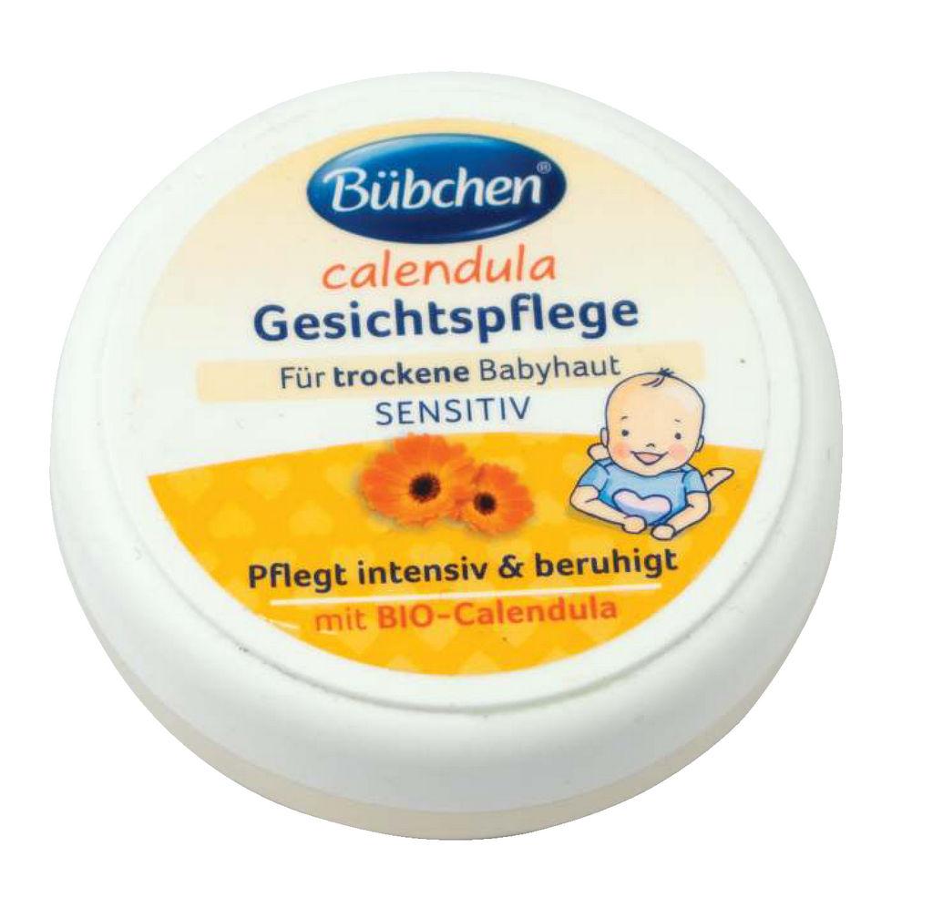 Otroška krema za obraz Bübchen mini negovalna, 20 g